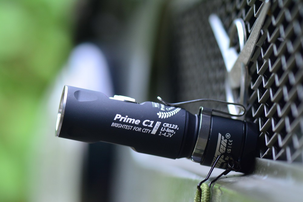 Карманный фонарь Armytek Prime C1 Pro выручает каждый день!