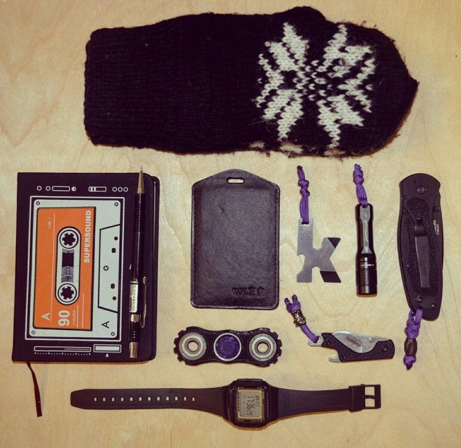 Зимний EDC: Практически черный EDC Vol.3