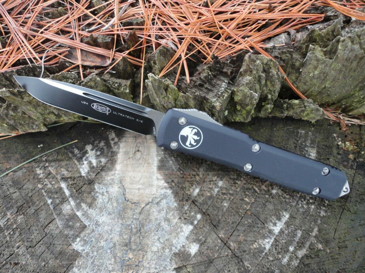 Microtech 121-1 Ultratech S/E Black -очень дорого! Очень круто!