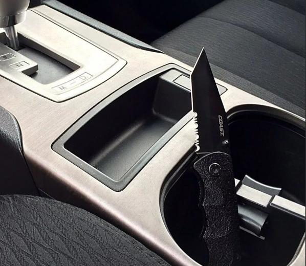 Можно ли возить нож в машине и что за это будет?
