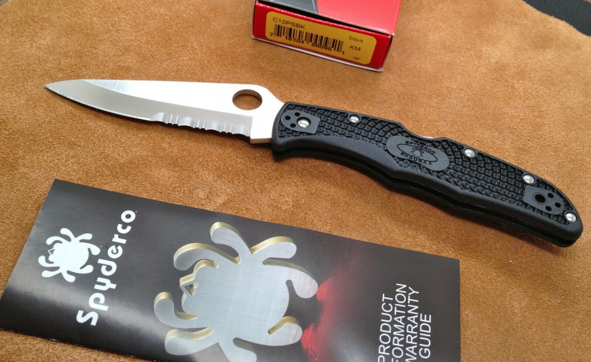 Spyderco Endura C10PSBK
