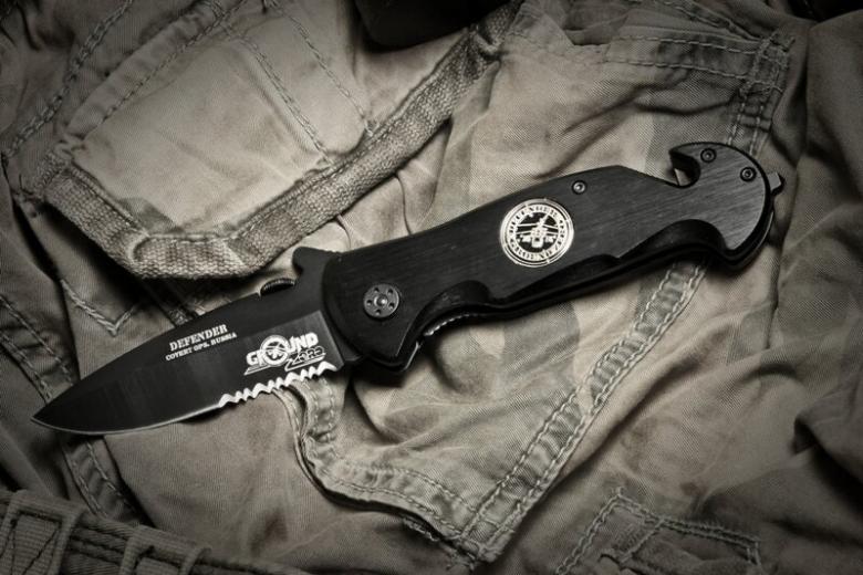 Ножи Ground Zero с ионно-вакуумным напылением