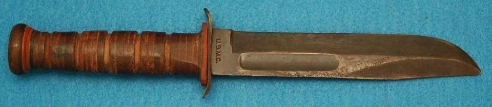 «Несущий демократию» боевой тактический нож морской пехоты США - Ka-Bar 1217 и его реплики.