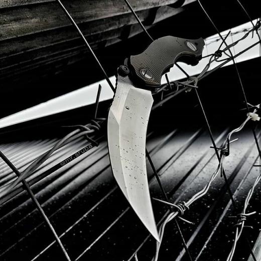 Нож агрессор – ворон из твоих кошмаров!