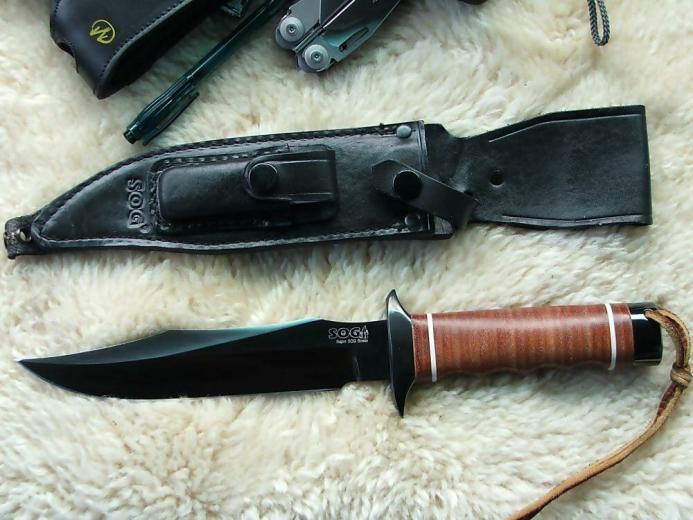 Боевой нож SOG Navy Seal 2000 – настоящий клинок американских «морских котиков»