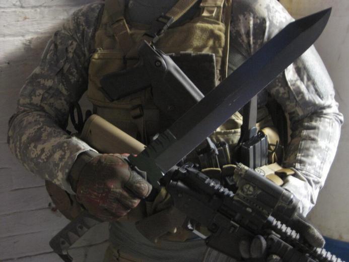 Как использовать нож для самозащиты и что нам за это будет?