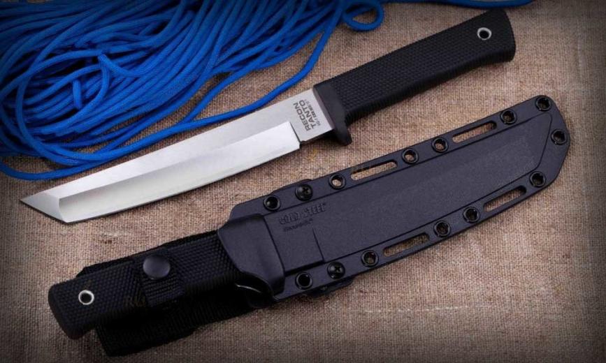 Cold Steel Recon Tanto – именно так должен выглядеть нож выживания