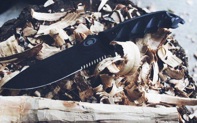 Нож Blackwater Grizzly 6 – грубый и практичный или бесполезный боевой нож из Италии?