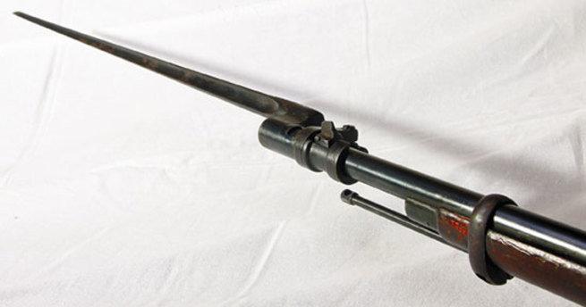 Самый первый штык к винтовке системы Мосина – гранёные клинки рулят!