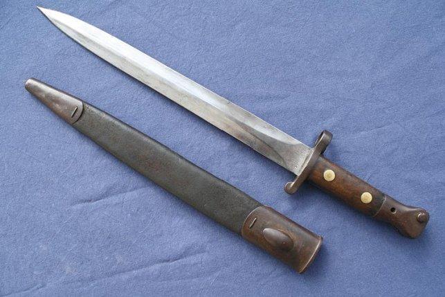 Штык-нож образца 1888 года – и британцы ходили в штыковую атаку