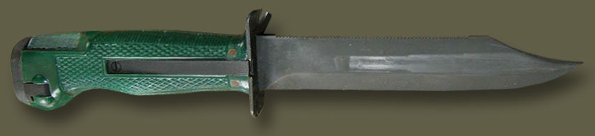 Стреляющий нож НРС-2 и его история появления на свет