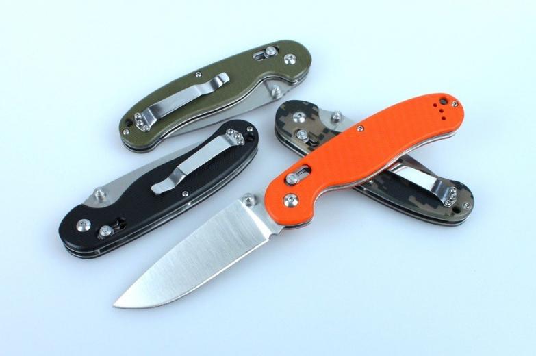 Нож Ганзо 727М – долгожданная «крыса» с аксисом