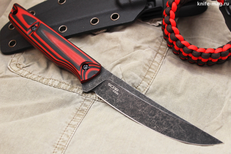 Scar Red Black от  N.C.Custom