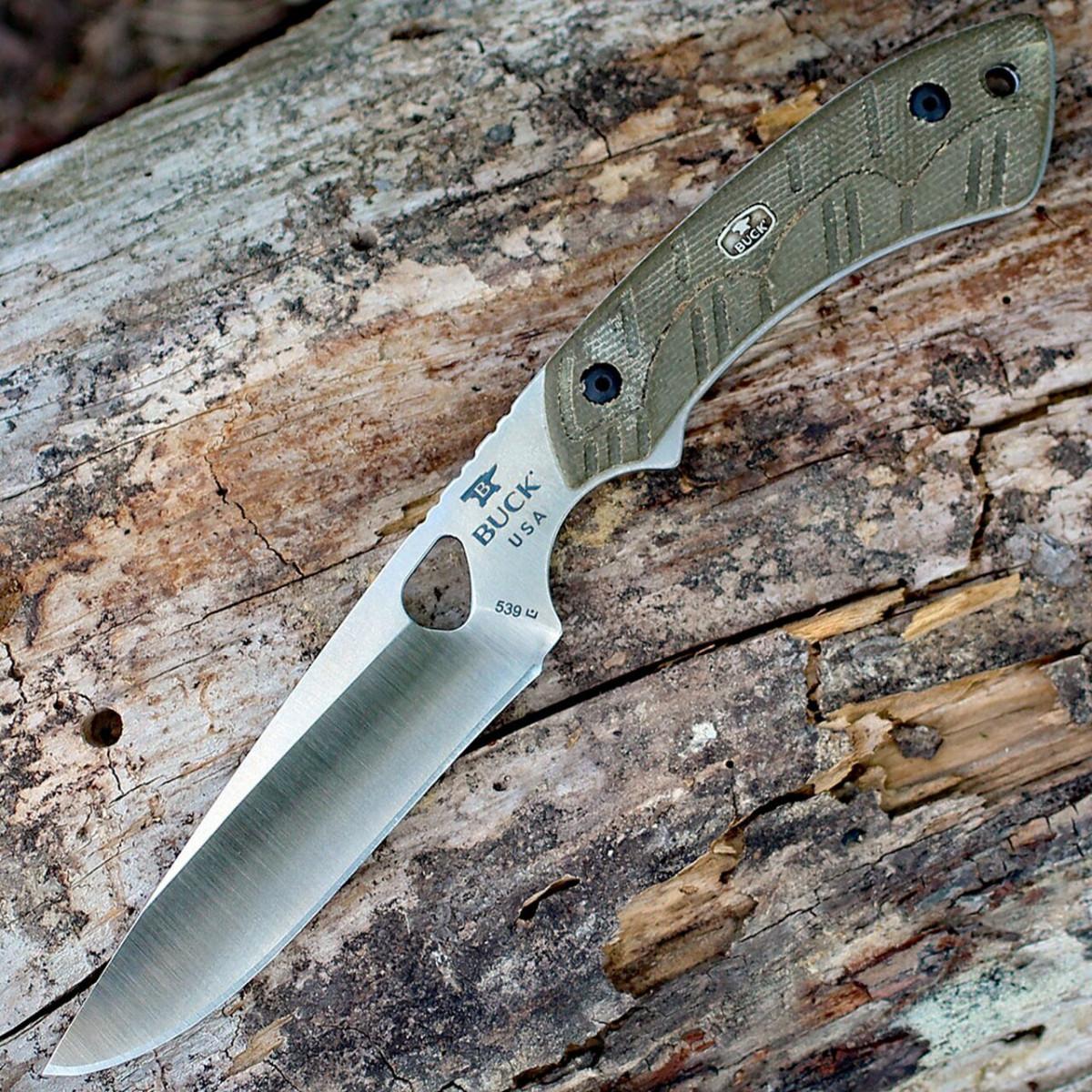 Buck 538 - охотничий скальпель