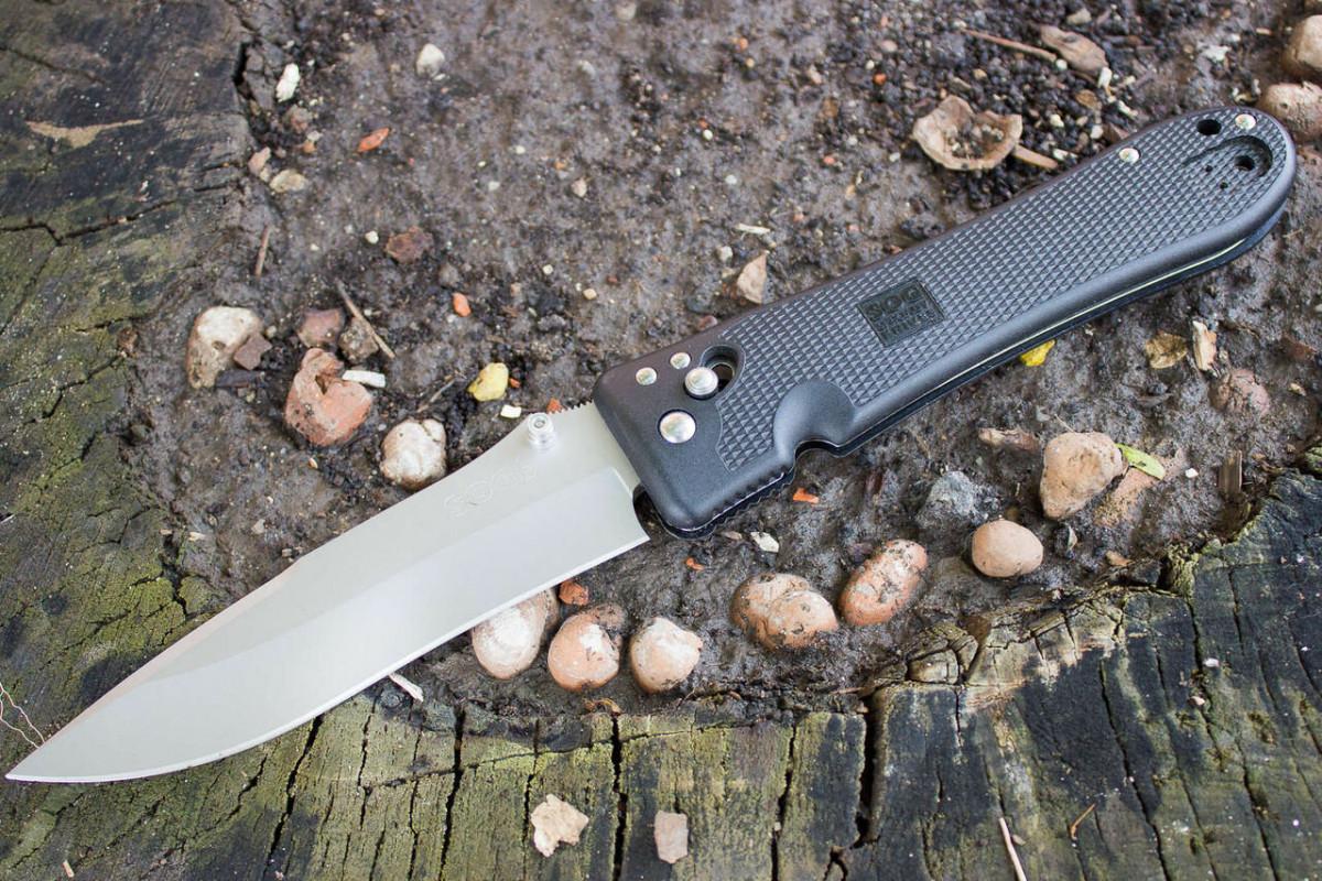 SOG Spec-Elite II - для тех кому нравятся ножи побольше