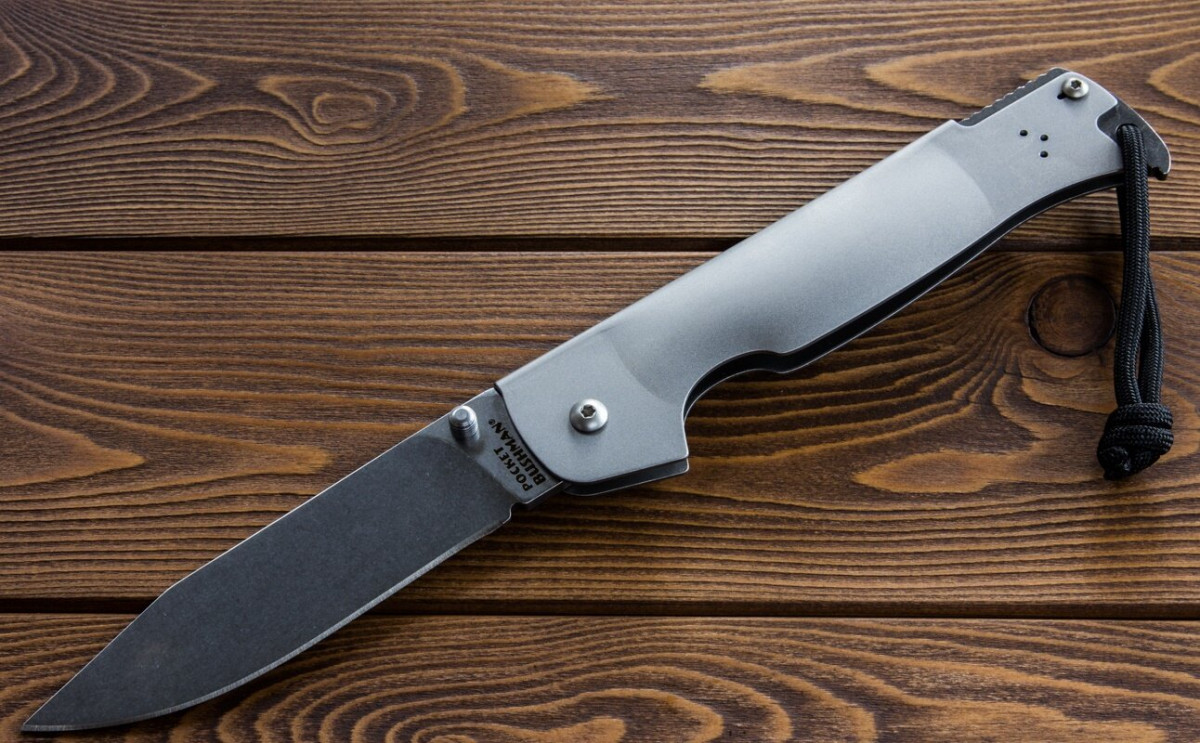 Pocket Bushman Cold Steel - надежный складной нож
