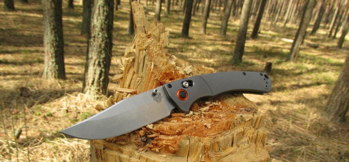 Benchmade 15080-1 Crooked River - дедушкин нож в современном прочтении