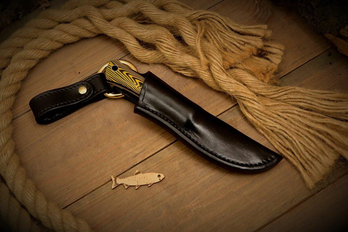 """Beaver Knife """"Bird@Trout"""" - надежный помощник"""