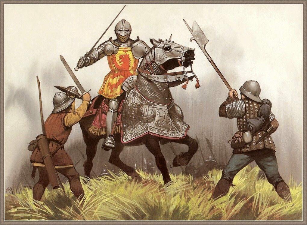 Алебарда -убийца тяжелой конницы