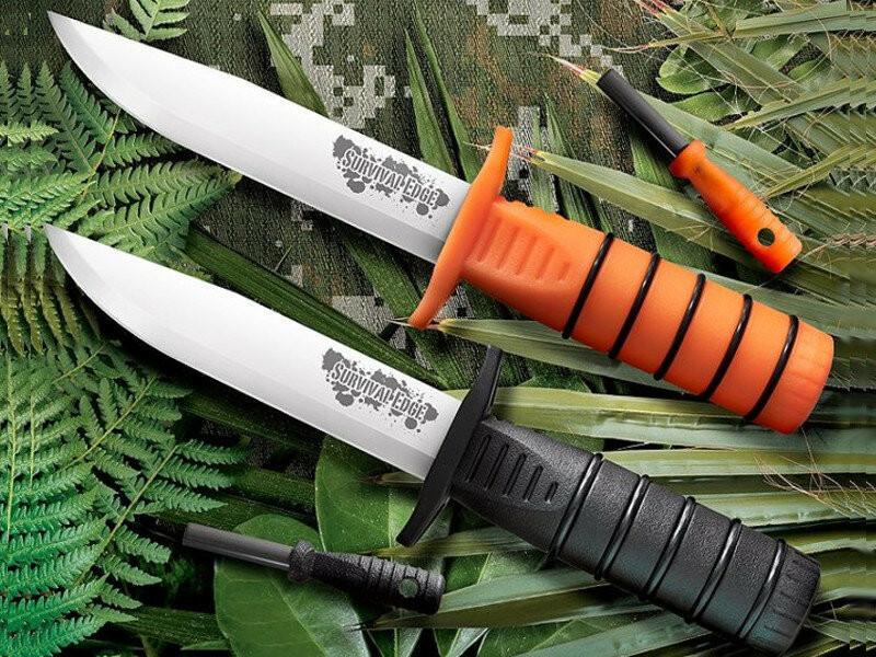 Обзор нового ножа от Cold Steel для выживания на даче