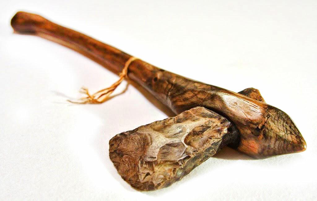 Топоры – оружие, пришедшее из каменного века