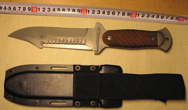 Водолазный нож из комплекта УВС-50 – боевой или специализированный нож?