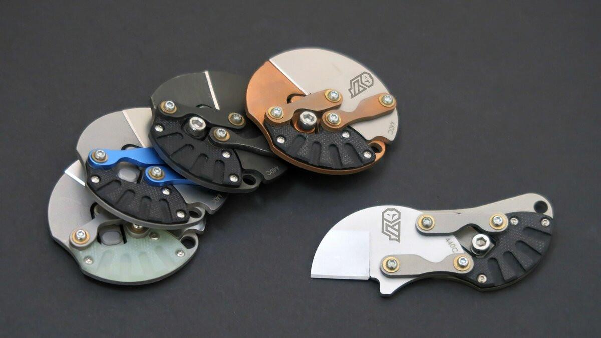Нож Eclipse oт Fulcrum Knives – стильный аксессуар или полезная вещь?