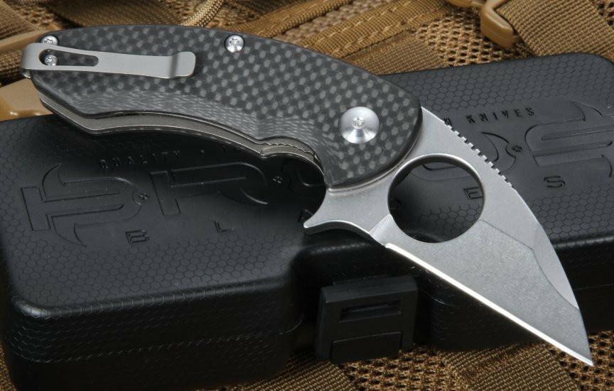 Нож Brous Blades Silent Soldier Flipper – оригинальны солдатский складень для эстетов