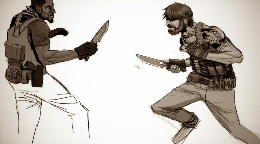 Нож THE GRAB N' STAB – схвати и режь, или новая концепция самообороны от американцев