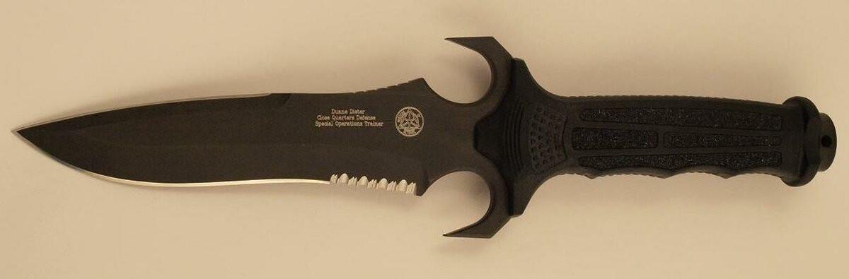 Нож Mark V ATAC – это что, настоящий боевой клинок? Так точно, сэр!