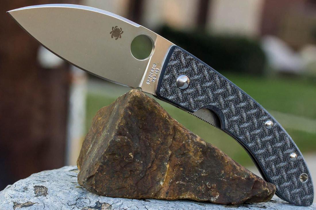 Нож Spyderco Lum Chinese Folder – авторская модель, пущенная в массы