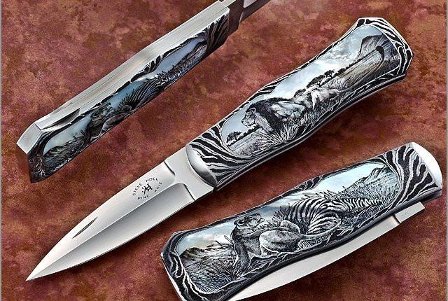 Нож Böker Minos – одна из лучших моделей мастера Йенса Ансё