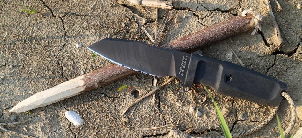 Итальянские ножи Extrema Ratio семейства TASK– и опять они самые крепкие в мире!