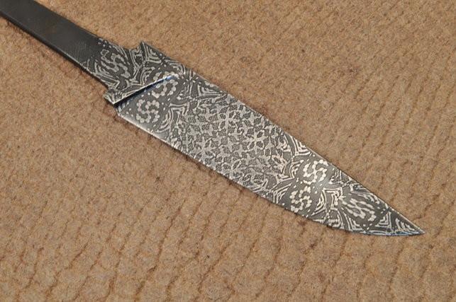 Какой бывает традиционная дамасская сталь?