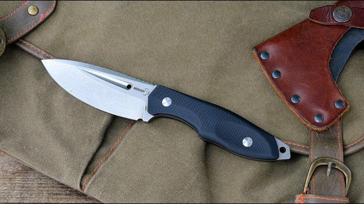 Нож Boker Plus Rampage – настоящий универсал, несмотря на футуристическую внешность