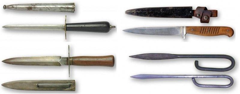 Окопные ножи мировых войн - чем немцы дрались в окопах?