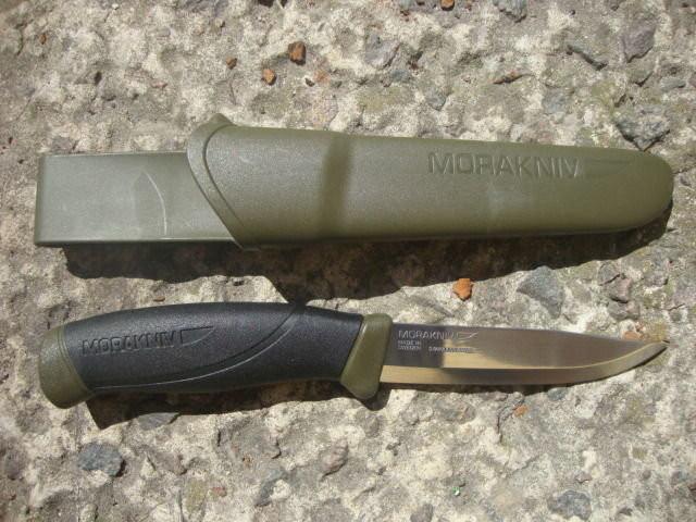 Самая лучшая и бюджетная «финка» в мире – нож Мора Компаньон