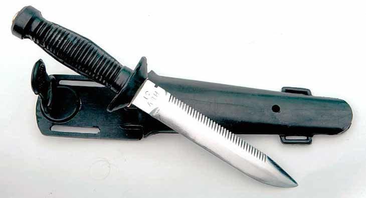 Боевой нож «Катран» - холодное оружие боевых пловцов спецназа