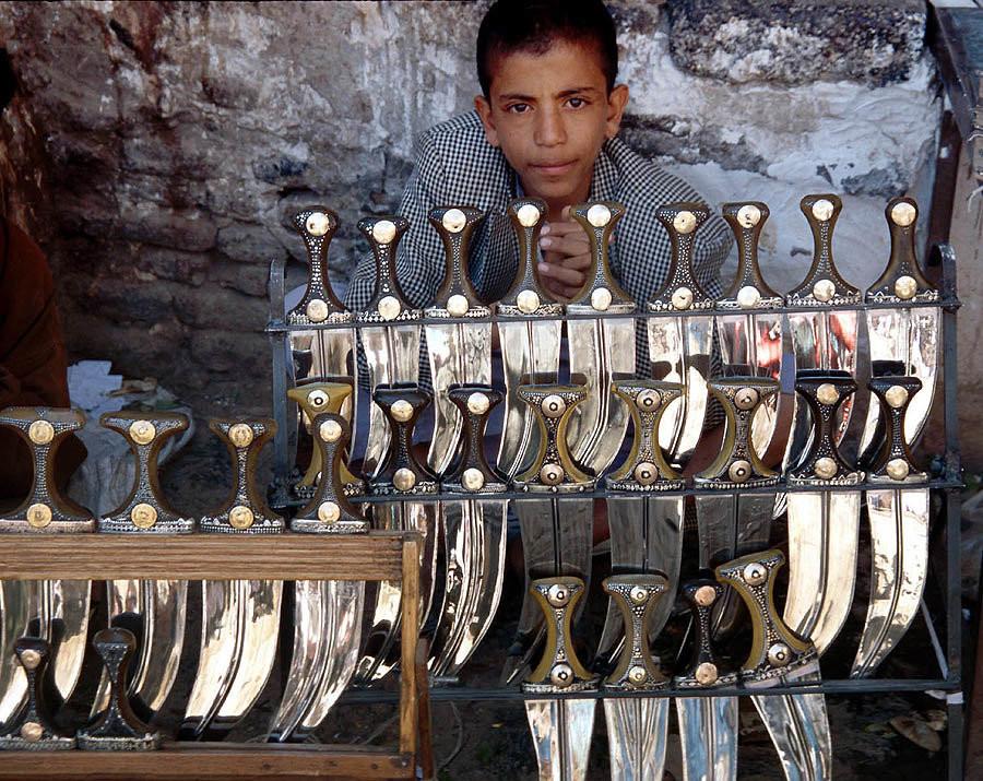 Кинжал джамбия – боевое холодное оружие настоящего йеменца
