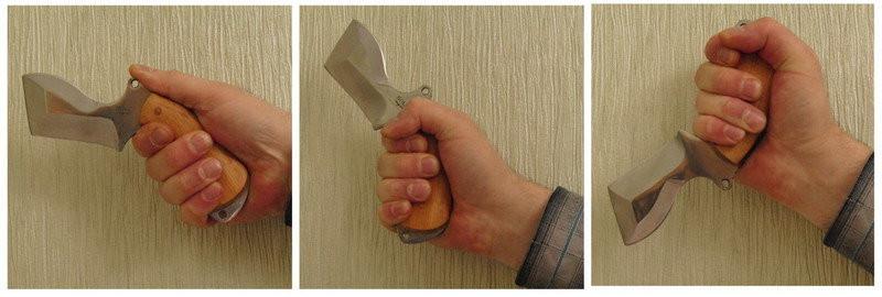 Боевые хваты ножа: как правильно держать нож в руке и какой хват самый эффективный?