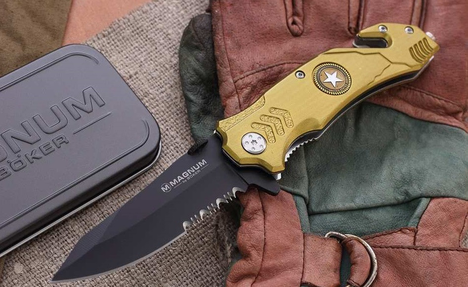 ARMY RESCUE – MAGNUM BY BOKER