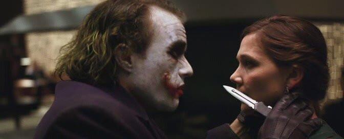 Какие ножи были у Джокера?