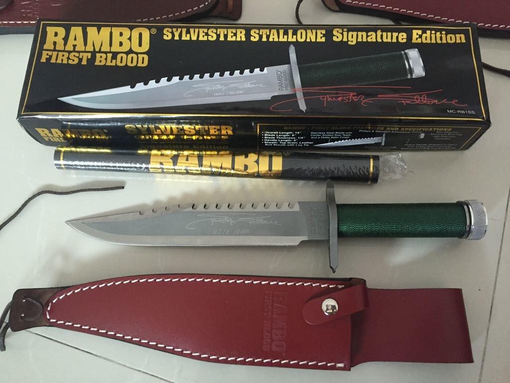 Нож Рембо – ожидания и реальность