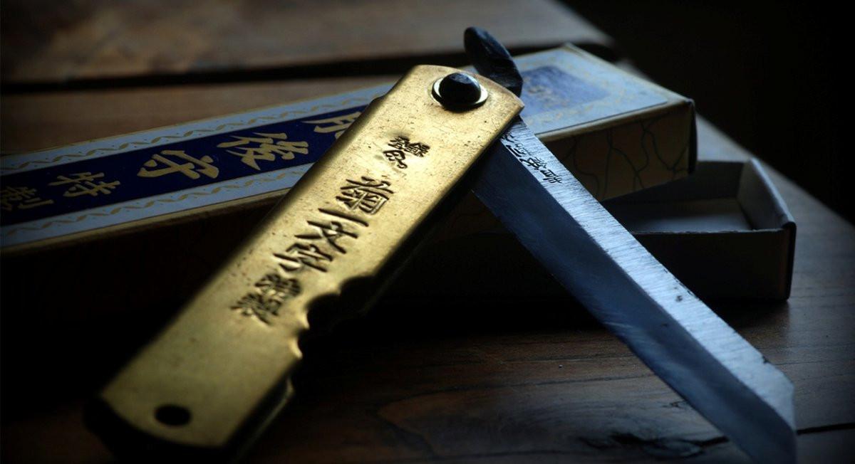 Попрощайтесь со своими пальцами - японский складной нож хигоноками