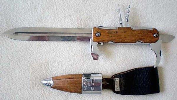 В Советском союзе были свои швейцарские ножи – НШ образца 1945 года