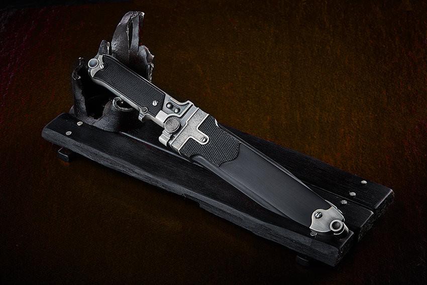 Нож Люгер Р-08 - современное произведение искусства от русского кузнеца