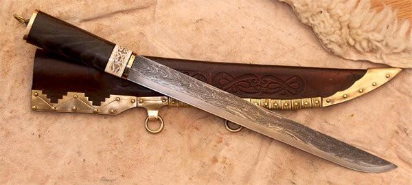 Скрамасакс – каким был боевой нож диких варваров?