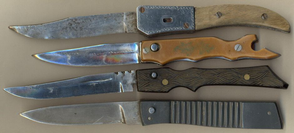 Зоновские ножи часто демонстрируют отличный рез