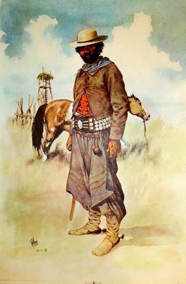 Традиционный наряд гаучо