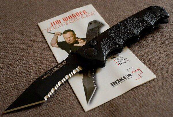 Böker Plus Jim Wagner Reality Based Blade 01BO050